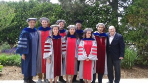 l to r (rear): Prof. Munther Dahleh, Dr. Ross Collins, Dr. Jonathan Krones, Dr. William Young, Dr. Vivek Sakhrani, Prof. Joseph Sussman, (front): Dr. Ellen Czaika, Dr. Fei Gao, Prof. Arzum Akkas (Credit: Elizabeth Milnes)