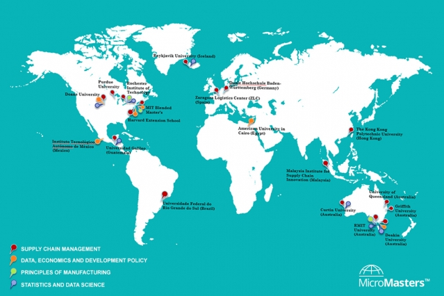 To date, 19 pathway institutions in 11 countries offer 58 different pathways to a master's degree. Image courtesy of Lu Zhang