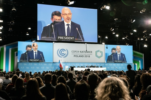 """It's now time to move forward,"" said Michał Kurtyka, president of the COP24 conference and state secretary in the Ministry of Energy in Poland. ""The issues that are left do not benefit from time. Climate change will not wait for us."""