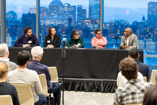 "The Department of Civil and Environmental Engineering's ""research speed dating"" event included a panel discussion with CEE professors on the future of research in infrastructure and environment."