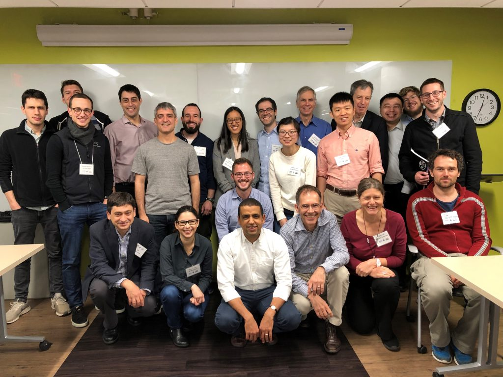 Attendees at the Synthetic Control and Related Methods conference hosted by IDSS in 2019.