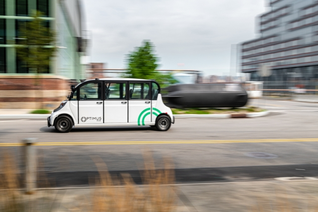 Optimus Ride has already deployed its autonomous transportation systems in the Seaport area of Boston, in a mixed-use development in South Weymouth, Massachusetts, and in the Brooklyn Navy Yard, a 300-acre industrial park.