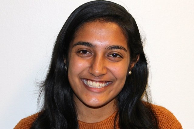 Anoushka Bose is moving purposefully toward a public-service career in nuclear policy and diplomacy.