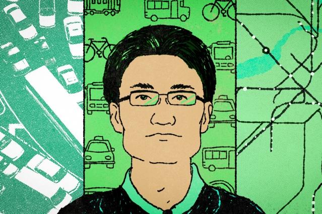 Illustration of Associate Professor Jinhua Zhao