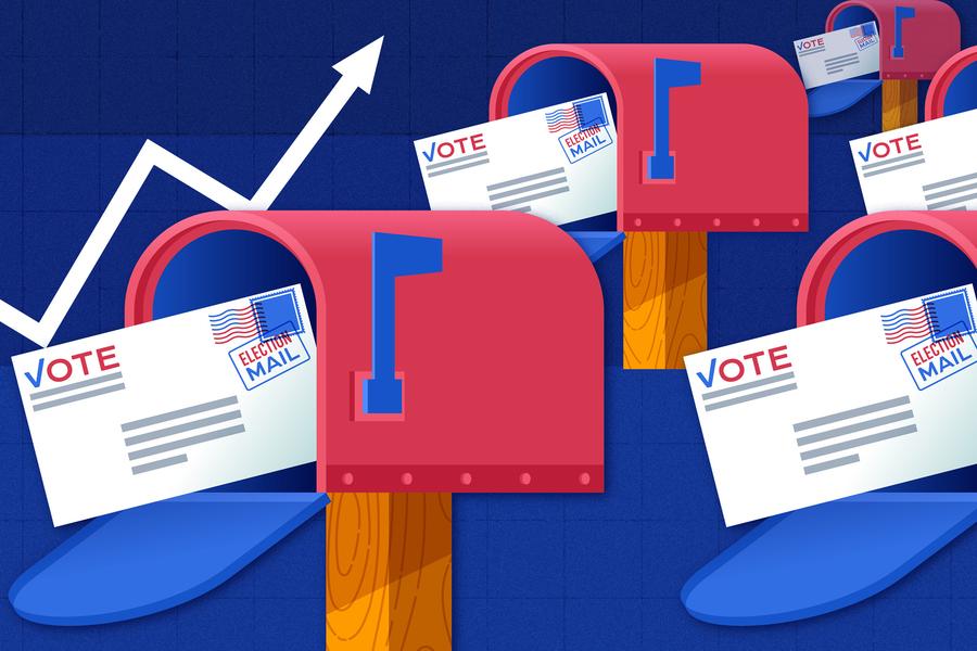 Vote in mailbox