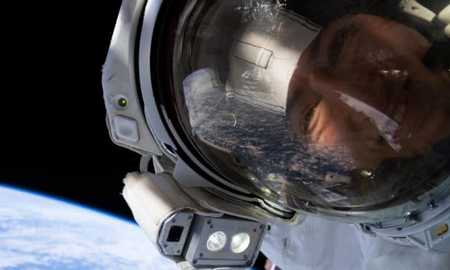Nasa astronaut Christina Koch. Only 11% of astronauts who made it to space have been women. Photograph: Nasa Handout/EPA